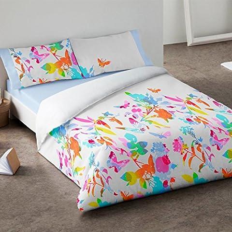 Burrito Blanco - Juego de funda nórdica 340 Multi, para cama de 135 x 190/200 cm.
