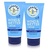 Penaten Baby Wind & Wetter Creme 75ml - Schützt bei kalter Witterung (2er Pack)