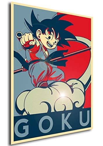 Instabuy Poster Dragon Ball Propaganda Goku (Variant) - A3 (42x30 cm)