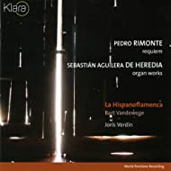 Pedro Rimonte, Requiem and De Heredia, Organ Works