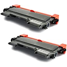 2 Compatible TN2220 TN2010 Laser Toner Cartridges for Brother HL-2130 HL-2132 HL-2135W HL-2240 HL-2240D HL-2250DN HL-2270DW DCP-7055 DCP-7055W DCP-7057 DCP-7060D DCP-7065DN DCP-7070DW MFC-7360N MFC-7460DN MFC-7460N MFC-7860DW FAX-2840 FAX-2845 FAX-2940E | 2,600 Pages