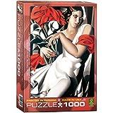 Puzzle 1000 piezas - de Lempicka: Retrato de Ira - 01205 de Euro Gráficos