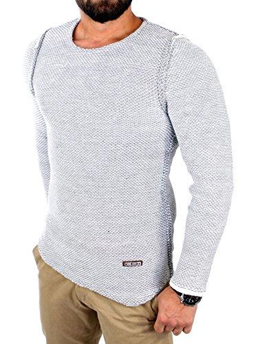 Reslad - Pull - Homme Blanc - blanc