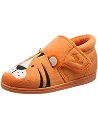 Chipmunks Boys' Tommy Hi-Top Slippers