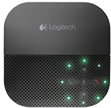 Logitech P710e Mobile Speakerphone Altoparlante Vivavoce Bluetooth Wireless, Chiamate Hands-‎Free, Videoconferenze, Audio Chiaro, Cancellazione Rumore, Multidispositivo, PC/Mac/Smartphone/Tablet