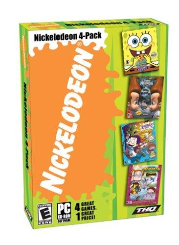 Nickelodeon 4-Pack Collection: Spongebob Squarepants Operation Krabby Patty / Rugrats All Growed-up / Wild Thornberrys Rambler / Jimmy Neutron Boy Genius vs Jimmy Negatron by THQ