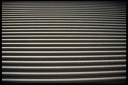 137098 Black And White Stripes A4 Photo Poster Print 10x8 - Libby Stripe