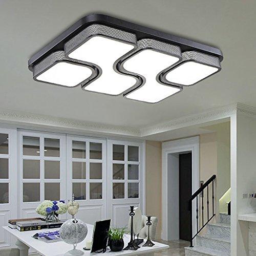 HG® LED Deckenlampe Deckenleuchte Design wohnzimmer Beleuchtung ...