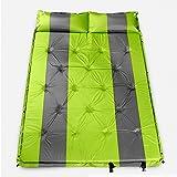 XY&CF Selbstaufblasende Isomatte für das Kampieren mit dem Kissen benutzt im Zelt imprägniern leichtes Gewicht 192 * 132 * 3cm (Farbe : A)