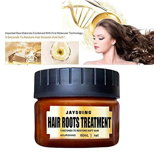 Advanced Molecular Hair Root Treatment Maschera per capelli, Maschera per capelli all'olio di argan e condizionatore profondo Recupera i capelli elasticizzati per capelli secchi o danneggiati 60ML