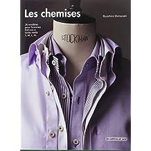 Les chemises, 26 modèles pour hommes, Patrons à taille réelle S, M, L, XL