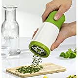 Vmore NEW Herb Mill Grinder Spice Mill Shredder Chopper Cutter Kitchen Tool (Stainless Steel)