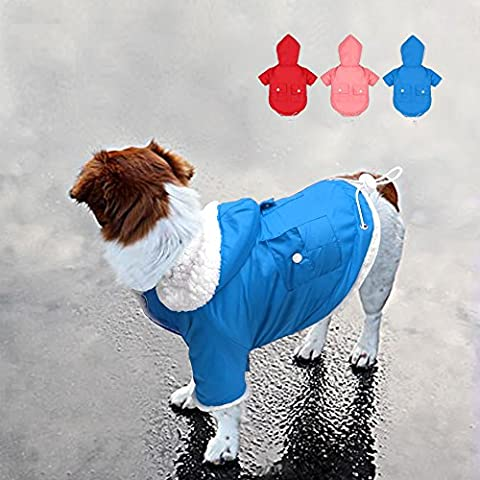 Berry par temps froid Manteau–Doggie Chiot Gilet chaud Veste de ski pour animal domestique–Chien Apparel pour petits chiens de taille moyenne, grande et