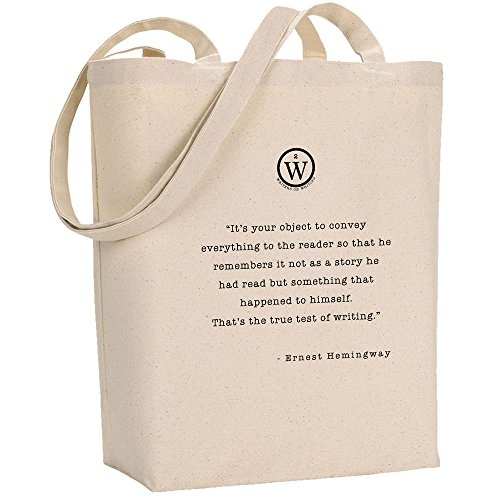 Writers On Writing Ernest Hemingway Test Of True Writing Tote
