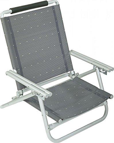 Chaise pliante chaise aZURO sTABIELO-coussin-sangles-distribution holly produits contre supplément avec fÄCHERSCHIRMEN-holly-sunshade ®