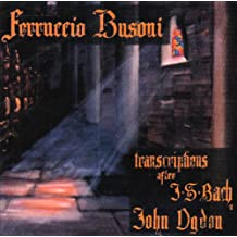 Ferruccio Busoni,Transcr.for Piano After J.S.Bach