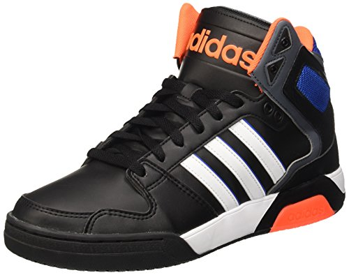 Adidas Herren Bb9Tis Basketball-Schuhe, Mehrfarbig (Cblack/Ftwwht/Sorang), 43 1/3 EU