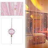 Beauty Strang Quaste Crystal Perlen Vorhang Tür Fenster Panel Raumteiler