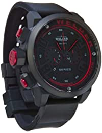 Men'Welder Armbanduhr 1615.9177 Chronograph Black Rubber Strap 31-2602 K