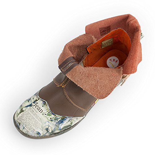Slip-on Da Donna Tma Soullook, In Vera Pelle, Colori Disponibili, Misure 36-42 / 43 Marrone