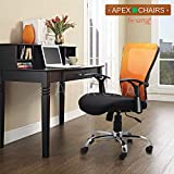 SAVYA HOME Apex Torque REVOLVING Office, Study and Gaming Chair, Standard Size, Black