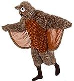 Kostüm Eule, Damen-Overall Eulchen