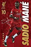 1art1 Calcio - Liverpool FC Sadio Mane Poster Stampa (91 x 61cm)