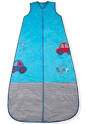 Mr. Sandman Beep Beep Motorcars/saco de dormir para bebé, peso estándar, 2,5tog)
