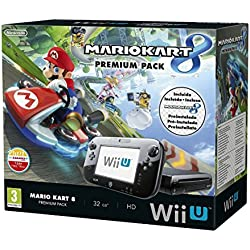 Nintendo Wii U - Consola, Premium Pack + Mario Kart 8 (Preinstalado)