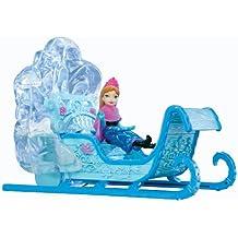 Toy Zany Disney Frozen Swirling Snow Sleigh