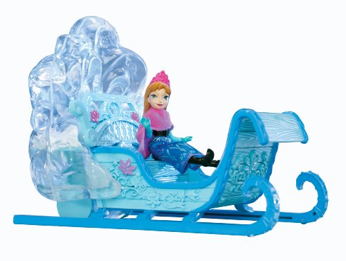 Toy Zany Disney Frozen Swirling Snow Sleigh