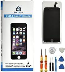"""Sintron OEM LCD Bildschirm Ersatz - Für iPhone 5S 4"""" Schwarz LCD Display Touchscreen Bildschirm Digitizer Assembly Reparaturset Ersatz Einschließlich Kostenlose Werkzeug (for iPhone 5S, Black)"""