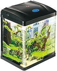 Pettix Black Fish Tank 8.8 Litre Nano