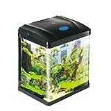 #3: Pettix Fish Tank 8.8 Litre Nano Imported Quality - Pettix (Black)