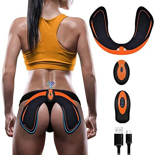 EGEYI EMS Hips Electroestimulador Muscular,Gluteos Estimulador de Glúteos Herramientas Nalgas HipTrainer para la Cadera Mujer Inteligente Hip Instructor Modelling Firing Ayuda a Levantar la Cadera