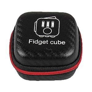 fidget cube case organizer anti angst stress relief. Black Bedroom Furniture Sets. Home Design Ideas