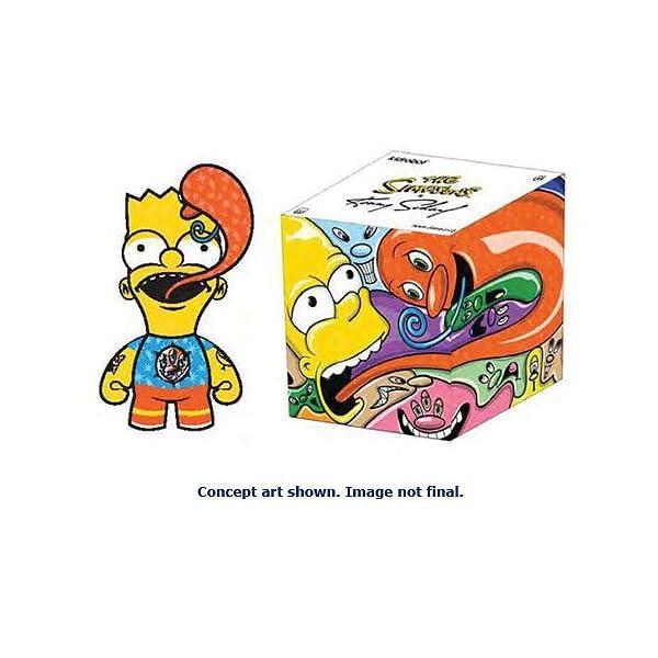 Los Simpson Figura Bart by Kenny Scharf 18 cm 1
