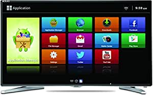 Mitashi 100.4 cm (39.5 Inches) Full HD LED Smart TV MIDE040V02  With Free Air Mouse (Gray) (2015 model)