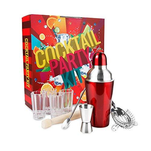 party-cocktail-kit-including-shaker-strainer-muddler-and-stirrer