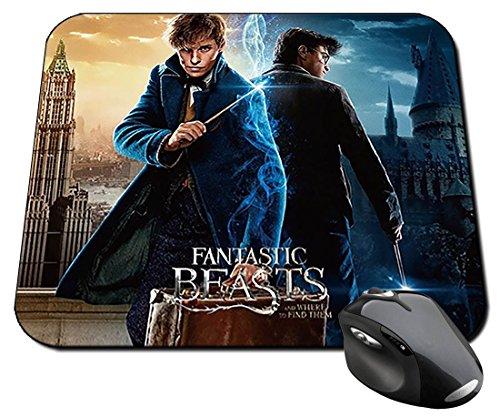 Harry Potter Daniel Radcliffe Eddie Redmayne Newt Scamander A Alfombrilla Mousepad PC