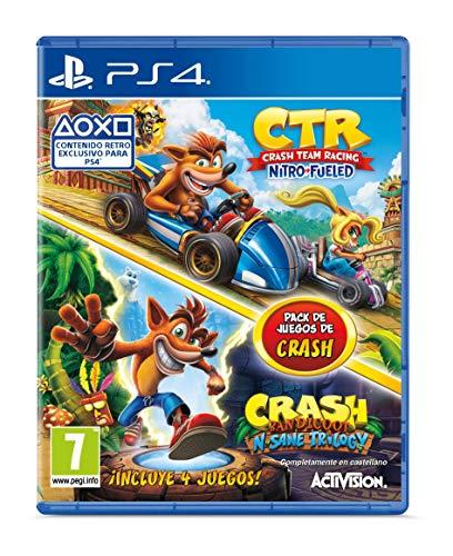 Crash Team Racing Nitro Fueled + Crash N. Sane Trilogy bundle - PlayStation 4 [Edizione: Spagna]