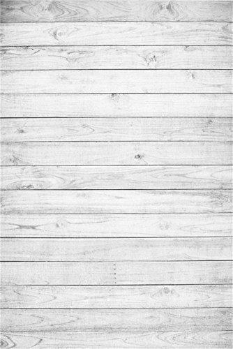 YongFoto 1x1,5m Vinyl Foto Hintergrund Holzoptic Hellgraue Hölzerne Alte Hölzerne Planke Fotografie Hintergrund für Photo Booth Baby Party Banner Kinder Fotostudio Requisiten