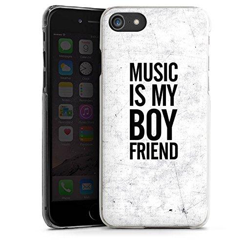 Apple iPhone X Silikon Hülle Case Schutzhülle Musik Liebe Freund Hard Case transparent