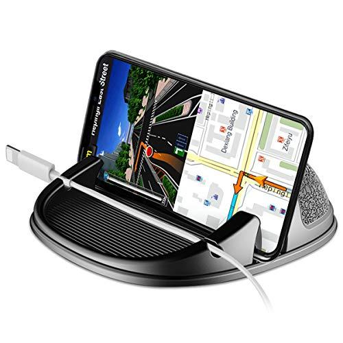 Wonsidary Handyhalterung Auto, Smartphone Handy Halter Silikon für Auto, KFZ Armaturenbrett Antirutschmatte für iPhone XS/Xs Max/XR/X/8/7/6, Samsung Galaxy, Google Nexus, LG, Huawei, GPS-Geräte