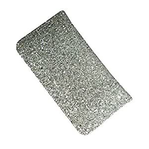 i-KitPit : PU Leather Flip Pouch Case For Lava Xolo X900 (SILVER WHITE)