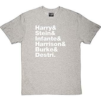Blondie Line-Up Ash Men's T-Shirt Small (White Print)