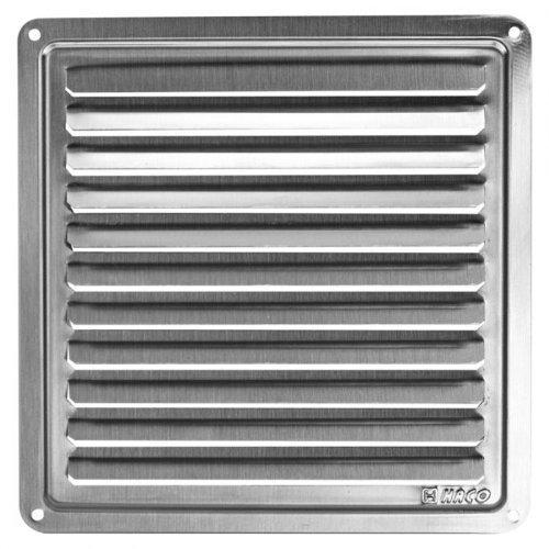 Acier inoxydable Grille de ventilation couvrir 150x150 Couvercle de grille de ventilation