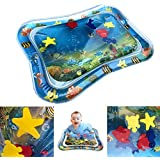 SNOWIE SOFT Baby Inflatable Water Cushion, Inflatable Infant Baby Water Mat Patted Pad - Fun Activity Play Center for Children Kids