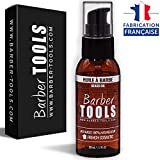 Huile à barbe 50ml | Pour l'entretien et le soin de barbe - FABRIQUE EN FRANCE  BARBER TOOLS