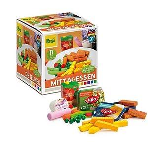Erzi 28153 Juego de rol - Juegos de rol (Cocina y Comida, Estuche de Juego, 3 año(s), Niño, Niño/niña, Multicolor)